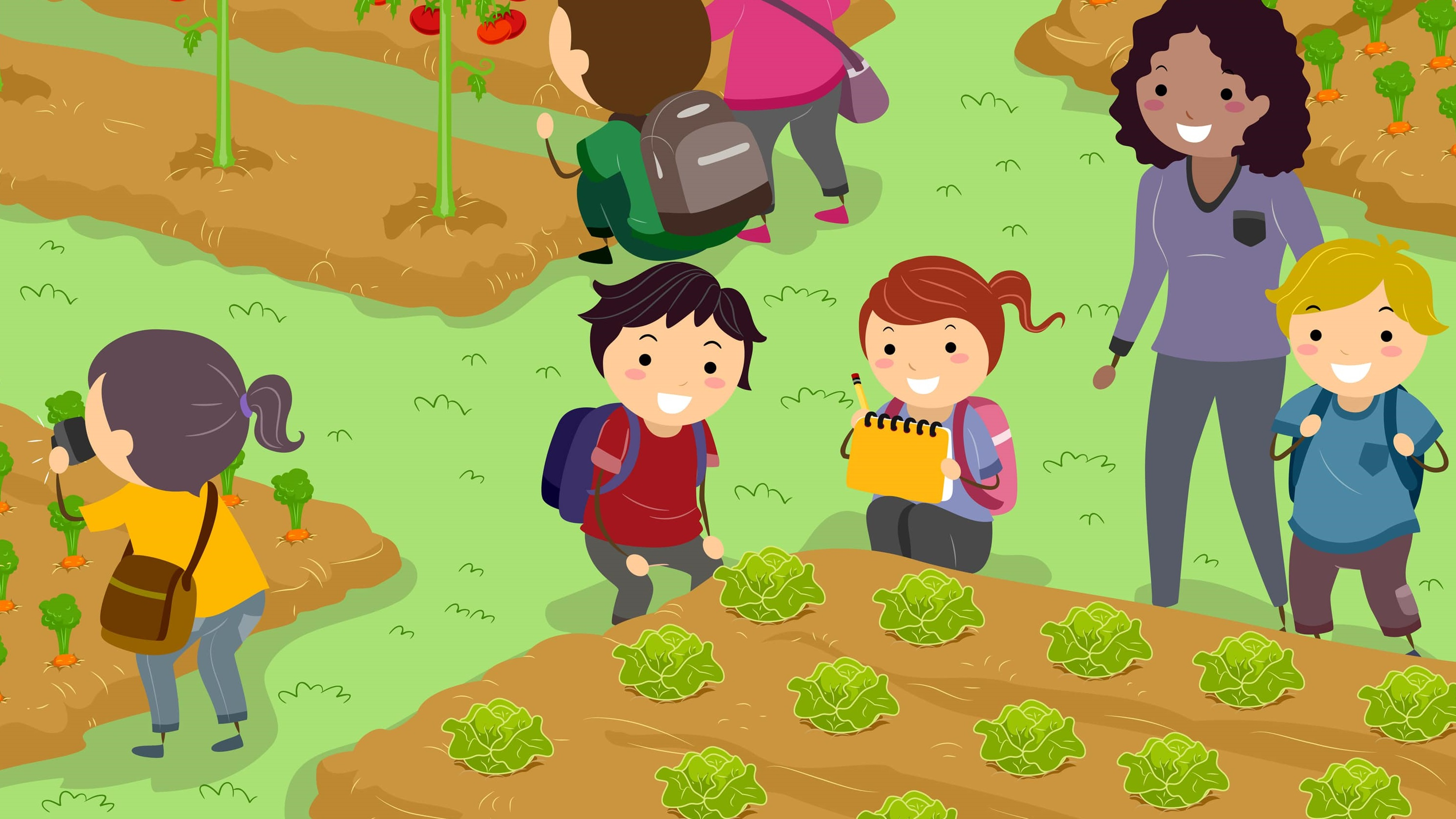 Ventajas de tener un huerto escolar la huerta de ivan for Plantas beneficiosas para el huerto