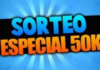 Sorteo Especial 50.000 Suscriptores