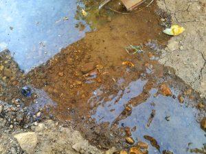 agua suelo arcilloso