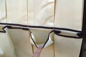 Como hacer una huerta vertical con un zapatero la huerta for Zapatero tela colgar