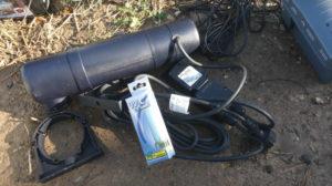 filtro estanque uv