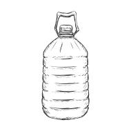trampa botella
