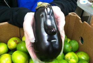 verduras de formas raras