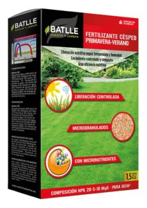 fertilizante cesped