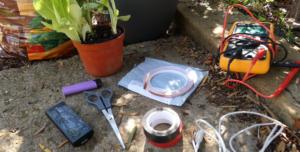 materiales contra caracoles y babosas